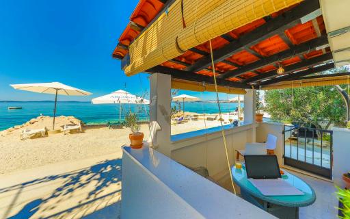 Superbe appart' sur la plage en Croatie