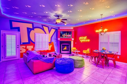 There is an Epic Toy Story Experience on Airbnb