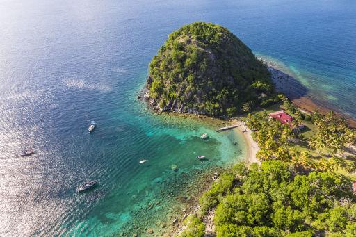 Vols vers l'archipel de Guadeloupe à petit prix