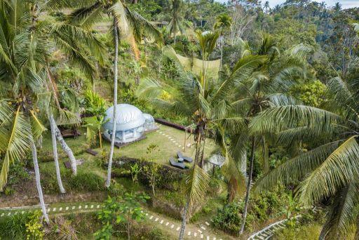 Dormez dans une bulle à Bali