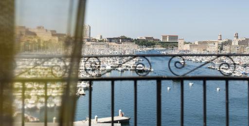 Hôtel 4* avec vue sur le port de Marseille