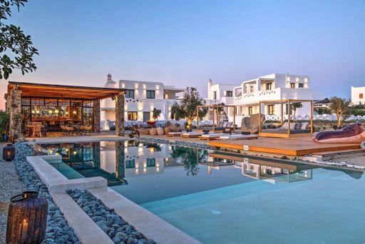 Boetiekhotel op bruisend Mykonos