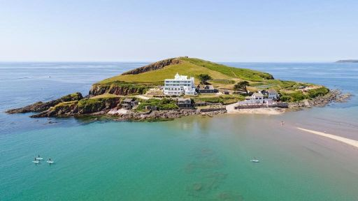 You can hire your own private island in Devon