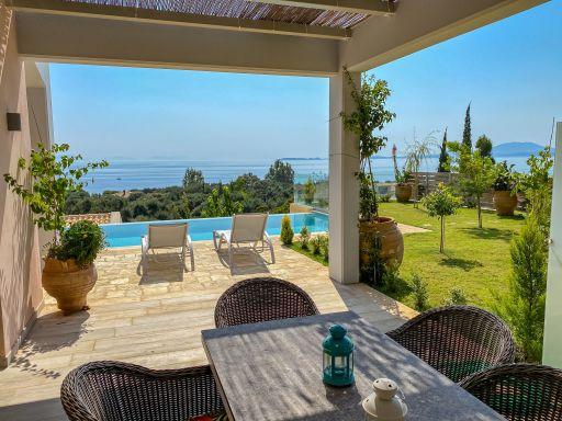 Deine Villa mit privatem Pool, dieser Aussicht & direkter Strandlage