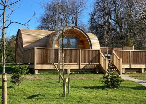 Beautiful pod on Wales/England border with hot tub! Stay 3nts (sleeps 4)
