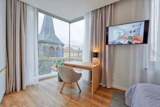 Praga: 4* butikowy hotel wellness z widokowym tarasem na dachu