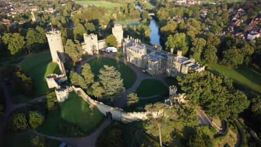 Warwick Castle stay this summer with entry & breakfast included