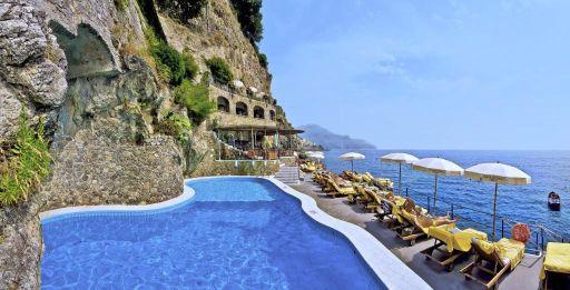 Vue panoramique sur la côte Amalfitaine