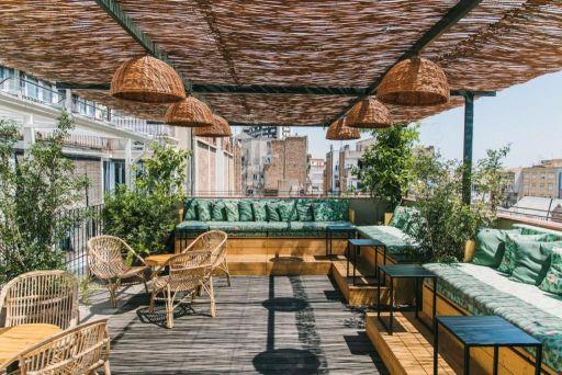 Hôtel design dans le centre ville de Barcelone