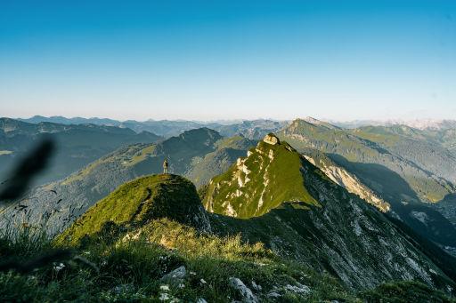 Neueröffnung mit Alpenpanorama
