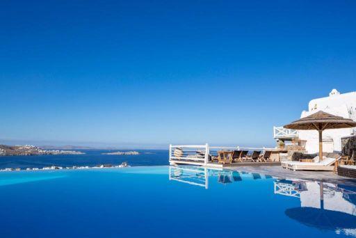 Hôtel de rêve en Grèce