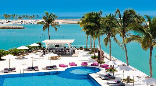 Absolutny 5* luksus All Inclusive z basenem infinity + Aquapark w Omanie 🤩