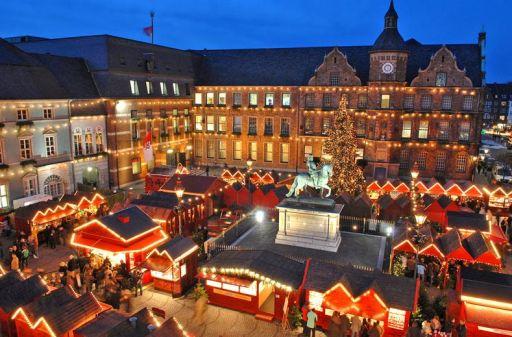 Weekendje Kerstmarkt in Düsseldorf