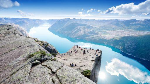 Luxe cruise naar Noorwegen