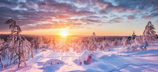 Winterabenteuer im schwedischen Lappland