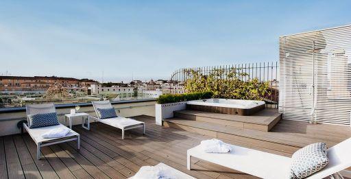 Rooftop & jacuzzi à Rome