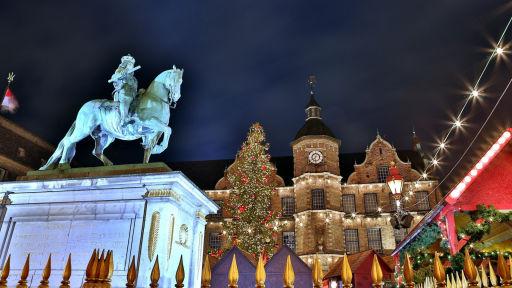 Hotelarrangement tijdens de kerstmarkten in Düsseldorf