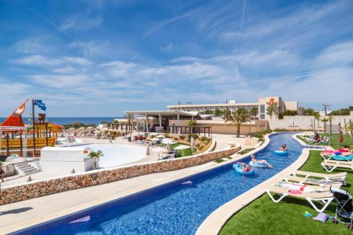 Menorca half-board holiday in 4* hotel with waterpark & flights