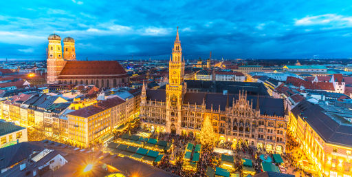 2nts at Munich Christmas Market 4* hotel with flights