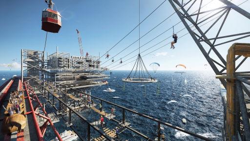 Oil rig theme Park Set to Open in Saudi Arabia