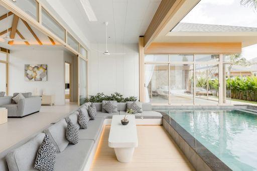 Villa luxueuse avec sa piscine privée en Thaïlande