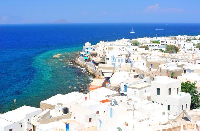 Vue sur Kos en Grèce