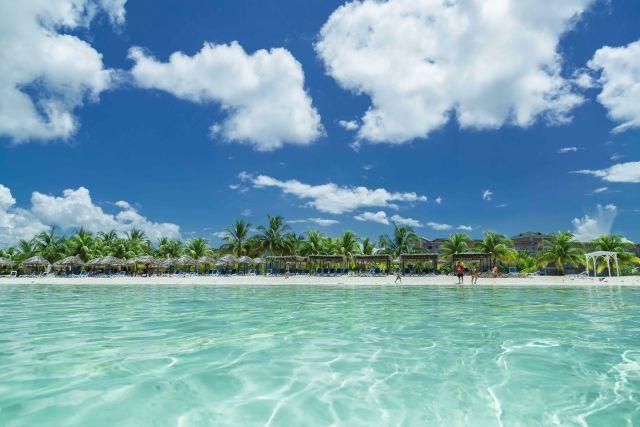 Aqua, Beach, Body of water