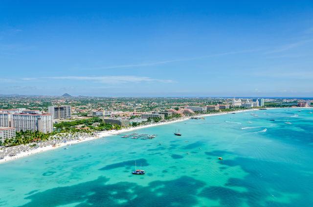 Aerial View, Aruba, Aruba Island