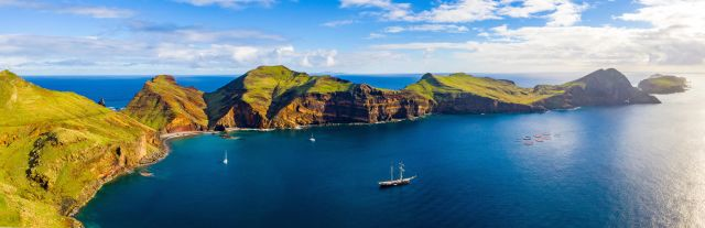 Bucht von Madeira Meer Portugal
