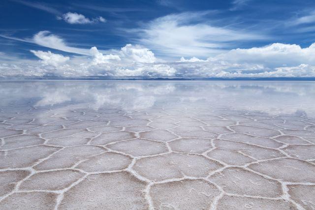 Salar-de-Uyuni Salzwüste Bolivien