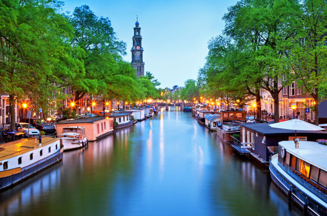 Amsterdam, Boat, Canal