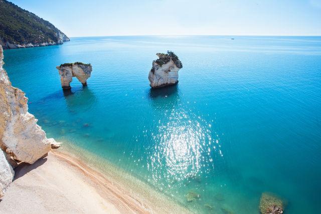 Apulia, Beach, Coast