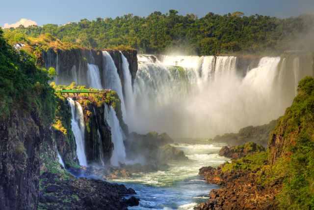 Argentina, Departamento de Iguazú, Iguazu Falls