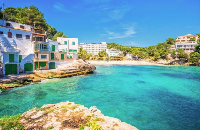 Une plage à Majorque