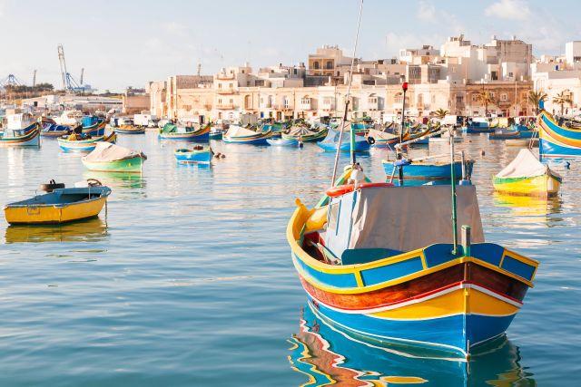 Boat, Europe, Malta