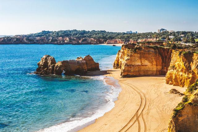 Coast of Algarve, Europe, Faro