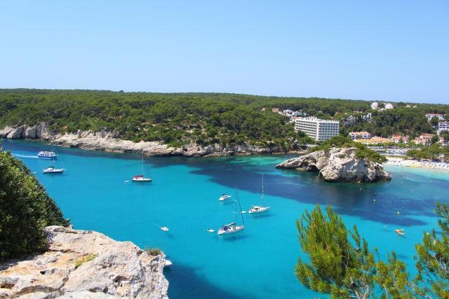 Balearic Islands, Bay, Boat