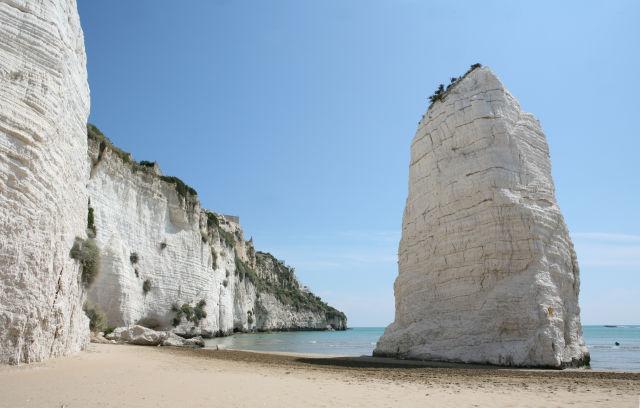 Apulia, Cliff, Coast