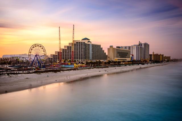 Strand von Daytona Beach