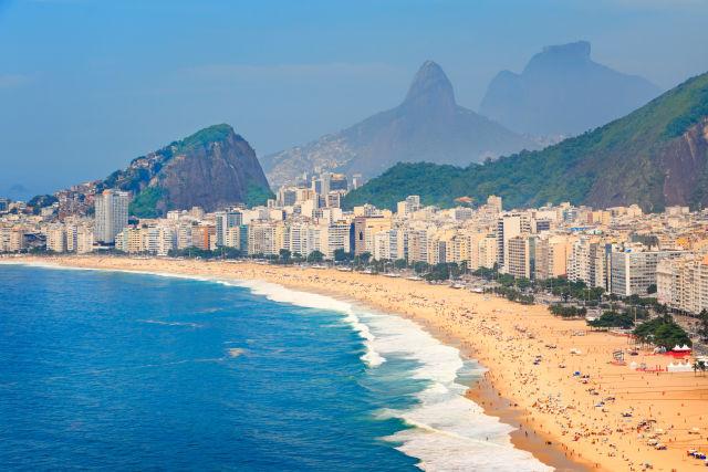 Beach, Brazil, Coast