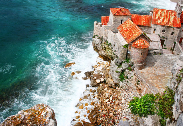 Budva, Montenegro view from above
