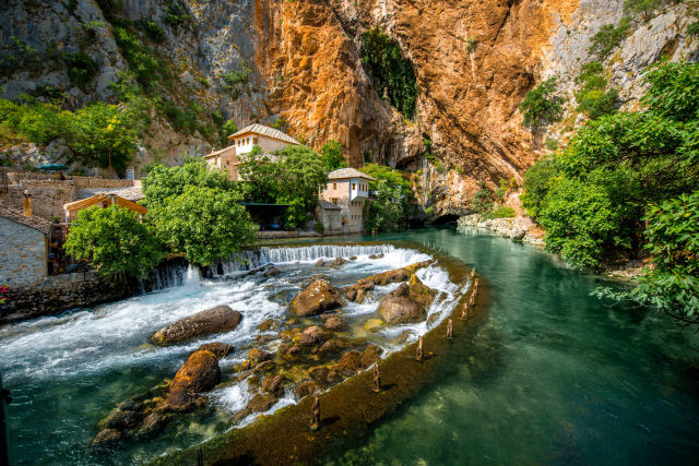 Bosnien-Herzegowina Natur Berge