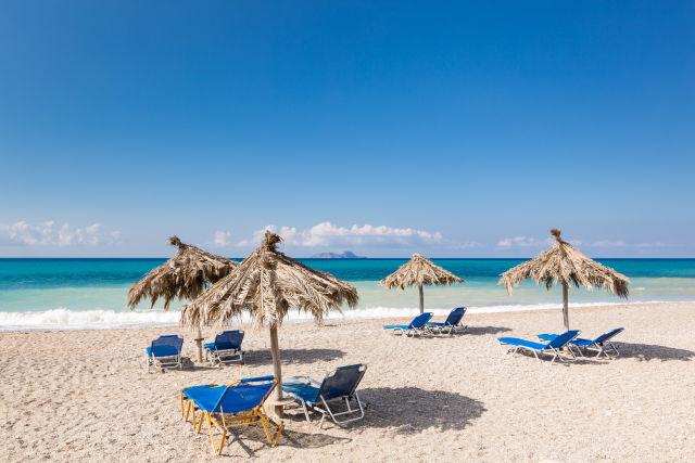 Beach, Chair, Coast