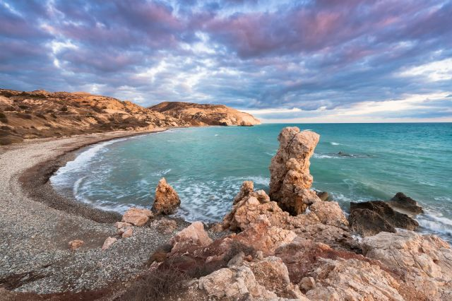 Zypern Bucht Meer Strand