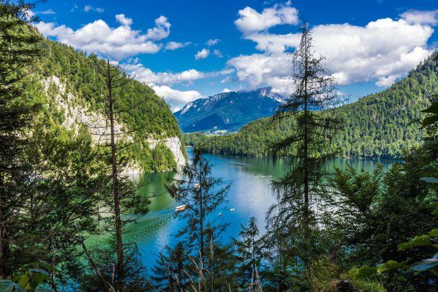Blick auf den Königssee, Berchtesgadener Land