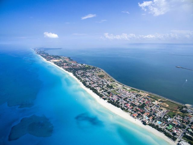 Atoll, Beach, Coast