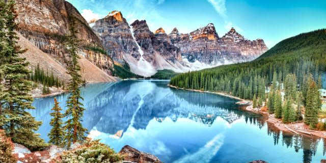 Alberta, Azure, Banff