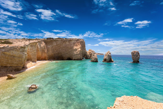 Beach, Cave, Cliff