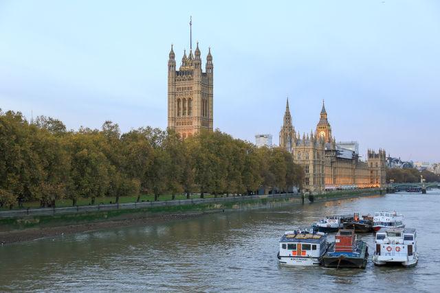 Die Houses of Parliament in London