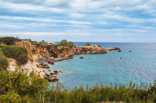 Cliff, Coast, Crete